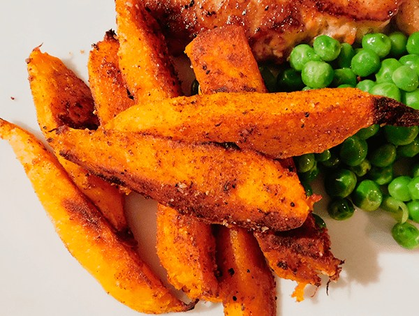 Crispy Sweet Potato Fries The Well Seasoned Mom